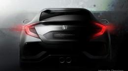 Honda mostrará el Civic 5 puertas Prototype en Ginebra