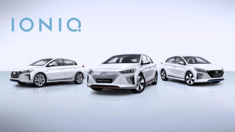 La nueva gama IONIQ de Hyundai electrificará Ginebra