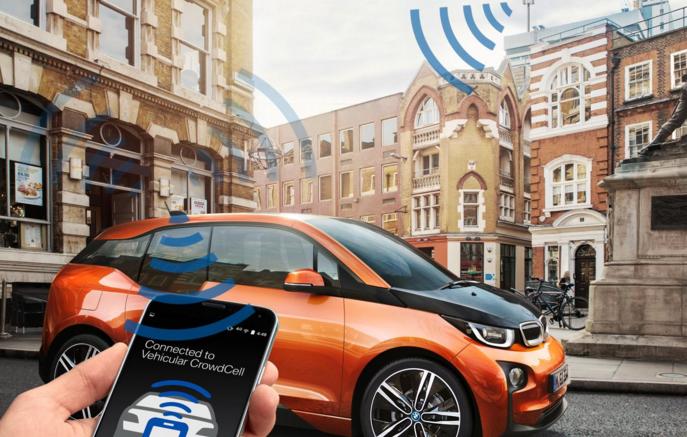 BMW presenta la tecnología 'Vehicular CrowdCell' en el Mobile World Congress