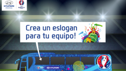 "Campaña ""Be There with Hyundai"" de la mano de la UEFA EURO 2016™"