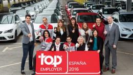 Volkswagen-Audi, Valeo, Scania, Seat y Goodyear, Top Employers en España