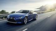El Lexus LC 500h debutará en el Salón de Ginebra