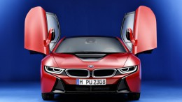 El BMW i8 Protonic Red Edition se mostrará en Ginebra