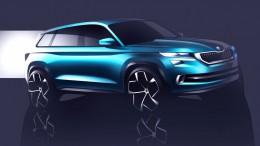 Škoda presenta el prototipo SUV VisionS en el Salón de Ginebra