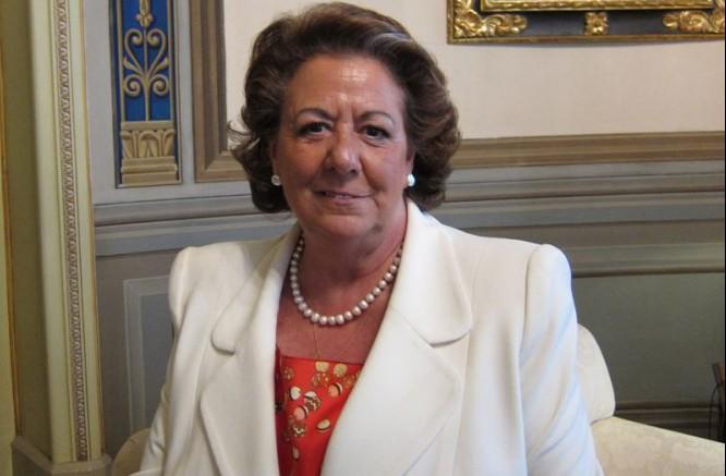 Rita Barberá, exalcaldesa de Valencia y ex-senadora del PP. Senadora de España. Descansa en Paz amiga