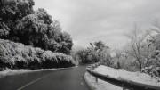 Consejos de seguridad en la carretera para la nieve y viento fuerte