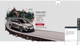 Toyota España refuerza su web