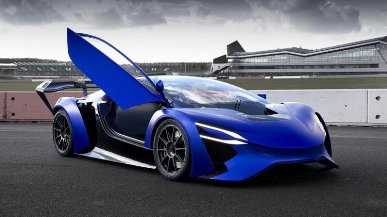 Techrules presenta una revolucionaria tecnología de coche eléctrico en un superdeportivo Chino