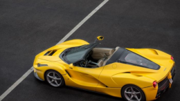 ¿ Ferrari está preparando un LaFerrari Spider?