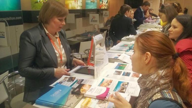 El Patronat de Turisme en la feria de turismo de Rusia