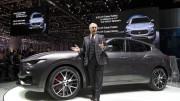El Maserati Levante se presenta en Ginebra