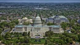 Vista aérea de Washington