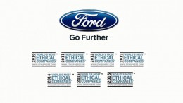 Ford, fabricante de automóviles más ético del Mundo de 2016 de Ethisphere