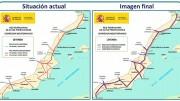 Plan sobre el Corredor Mediterráneo difundido por el Ministerio de Fomento difundido en 2011