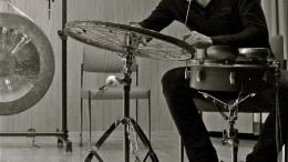 El músico Luis Tabuenca que participa en el Festival Ensems