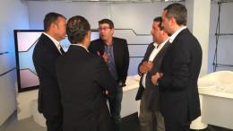 Jorge Rodríguez en el debate sobre las diputaciones de una cadena de radio