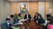 La Conselleria de Vivienda adjudica seis pisos en régimen de alquiler social en Aldaia, el pasado 14 de abril.