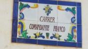 Calle Comandante Franco, en el municipio valenciano de Bétera