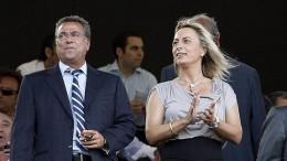 Sonia Castedo, exalcaldesa de Alicante, y Enrique Ortiz, empresario de la construcción