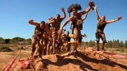 Participantes de la Crazy Race en una edición anterior