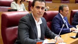 El diputado de Ciudadanos (C's) en Les Corts, Toni Subiela