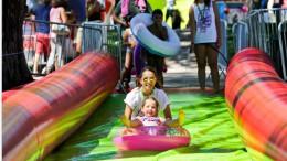 Urban Slide, el tobogán acuático más grande del mundo