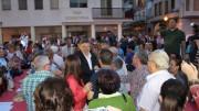 Ximo Puig en la cena mitin de Albatera