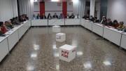 Reunión de la Ejecutiva Plenaria del PSPV-PSOE de ayer abordó el acuerdo del Senado