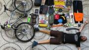 recorre 13.000 kilómetros en bici sin aparato digestivo