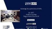 Programa especial Elecciones Generales en NewsFM