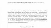 Documento de la Fiscalía Anticorrupción
