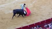 Natural de Adame en su paso por la Feria de Julio de Valencia.