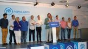 Rueda de prensa del presidente del PP de la provincia de Valencia, Vicente Betoret