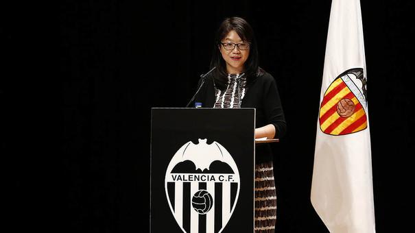 Layhoon Chan, Presidenta Ejecutiva del Valencia CF