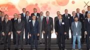 SM el Rey Felipe VI y Presente de la Xunta con los integrantes de la Directiva del Instituto de Empresa Familiar