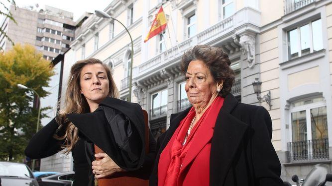 Rita Barberá se desvincula de la financiación de la campaña del PP valenciano