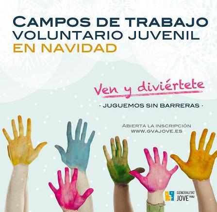 El IVAJ organiza dos proyectos de voluntariado juvenil de invierno en los albergues de Alborache y Moraira