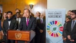 ONU celebra la entrada en vigor el Acuerdo de París sobre Cambio Climático