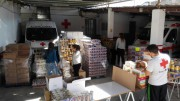 Cruz Roja Alzira distribuye casi 55.000 kilos de alimentos entre 579 familias