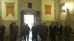 Una delegación de les Corts Valencianes visita el Cuartel General Terrestre de Alta Disponibilidad (CGTAD