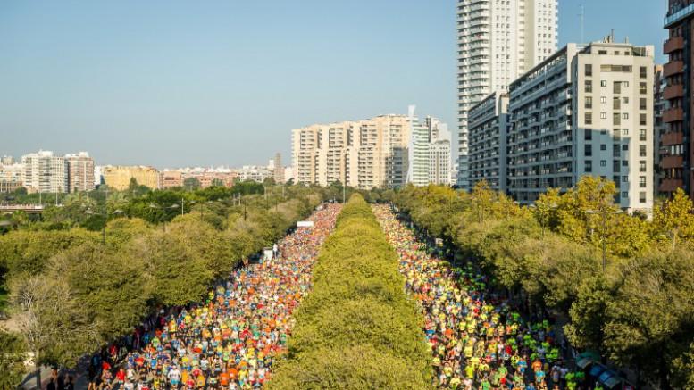 Maratón Valencia bate récord de participantes