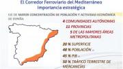 El Consell considera que el Corredor Mediterráneo debe incluirse como prioritario en un Pacto Nacional de Infraestructuras