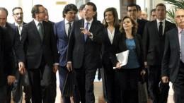Ministrables nuevo Gobierno Moragas-Saenz-Santamaria-Banez-Ayllon