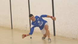 Las semifinales del Circuito Sub-23 de Raspall se inician en el trinquete de Guadassuar