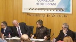 La Conselleria de Vivienda y Obras Públicas organiza un nuevo encuentro del Fòrum Valencià pel Corredor Mediterrani