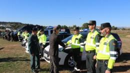 El dispositivo de seguridad con motivo de la celebración en Cheste (Valencia) del Gran Premio de Motociclismo ha aumentado un 16 por ciento hasta superar los 1.400 agentes y cinco helicópteros.