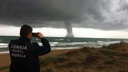 Temporal de lluvia y descenso de temperaturas en todo el litoral que seguirá durante 4 días