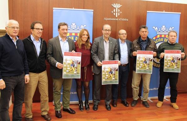 S'ha presentat la Primera Fase del Campionat d'Espanya de Seleccions Autonòmiques de Futbol Sub-16/Sub-18 que se celebrarà a Alzira