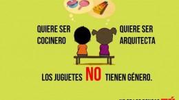 Igualdad presenta una campaña para impulsar la compra de juguetes libres de estereotipos de género