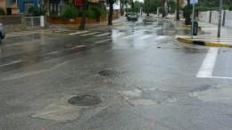 Medio Ambiente destina 242.000 euros para la reparación del colector de la Vía Ronda en la playa de Oliva